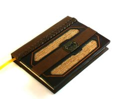 Golden Key Leather Journal by McGovernArts