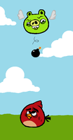 Angry Birds: When Pigs Fly by rubyxoxo
