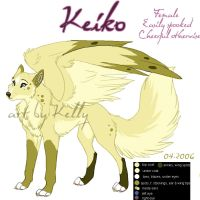 Keiko Ref Sheet by eternal-dream
