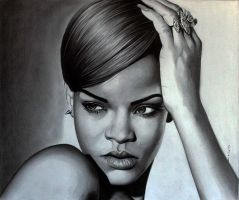 Rihanna 2 by donchild