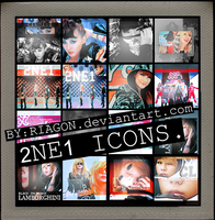 2NE1 ICONS. by RIAGON