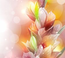 Spring-Lily-Flower-Vector by vectorbackgrounds