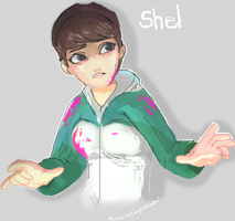 The Walking Dead Game - 400 DAYS - Shel by blue-pizza123
