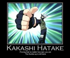 Kakashi Demotivational by xxalissaamaranthxx