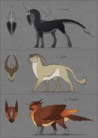 Adoptables: Sold by LhuneArt