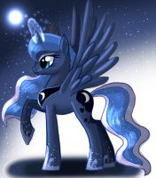 Princess Luna by AngelofHapiness