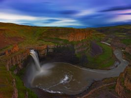 Palouse Falls by coulombic