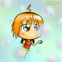 Rin-chan in bubbles by alittleofsomething