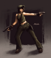 Army Chick Concept by RyomaNinja