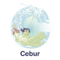 ABCDraw: C is for Cebur by adifitri