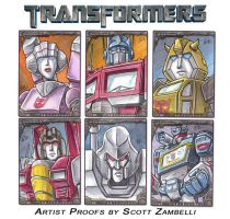 Transformers - Official Trading Card Set by TheArtofScott