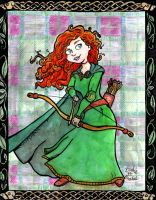 Merida the Brave by brodiehbrockie