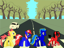 The Bronies - Abbey Road by Creshosk
