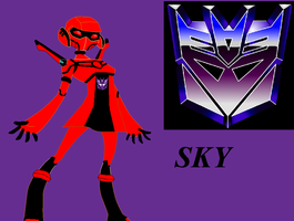 Transformers Animated sky by sharkgirl98
