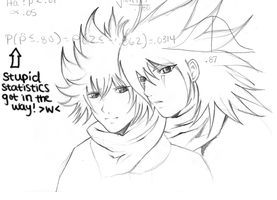 AkuRoku Sketch by SpiritOasis
