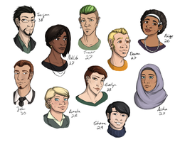 OCs Older by JoeyHazelLM