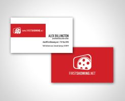 FirstShowing.net Biz Card by MarkRantal