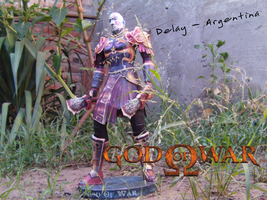 Kratos by delay-papercraft