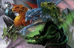 Dragons of Hellfrost by chriskuhlmann