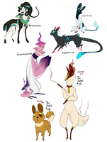 10 dollar commissions (plus money adopts) by Densetsugin