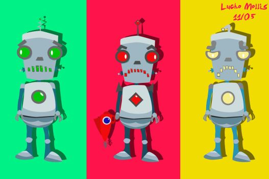 The Robolocos by Luchoxfive