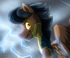 Discorded Lightning Rider by BuizelCream