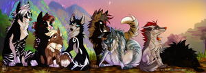 The Pack by MittensTheNoble
