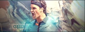 Roger Federer by AcCreed