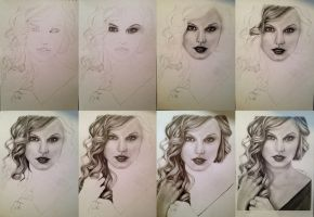 Taylor Swift step-by-step by Toxxicc