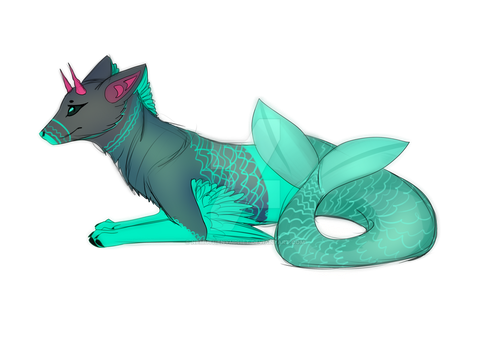 Syren Adoptable Auction - OPEN by NemuTheNymphet