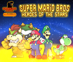 SMB - Heroes of the Stars Poster 2015 by KingAsylus91
