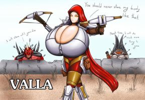 Valla : The demon hunter by EscapefromExpansion