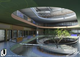A visualisation of concept interior of school by Lanstream