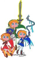 Collab+ OoT Links 8D by LovesickLatte