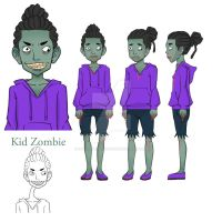 Kid Zombie by MalfinisProductions