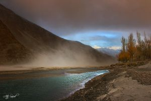Red  Wind Storm by M-Atif-Saeed