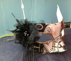 Lady of Time Mask by IdentityDesigns