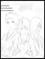 Naruto 511 cover lineart by Hand-Banana