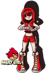 Angry Girls - RED [Redraw] by AnonAzure