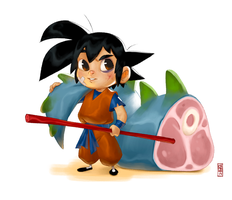 Goku by CamaraSketch
