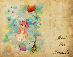 Just be Friends by Hoshi-Wolfgang-Hime