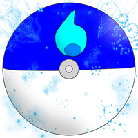Water Pokeball by water16dragon