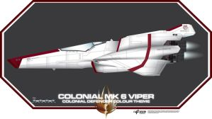 Viper Mk 6 Colonial Defender by Galen82