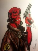 hellboy campbell's sketch 2 by willwoosharon