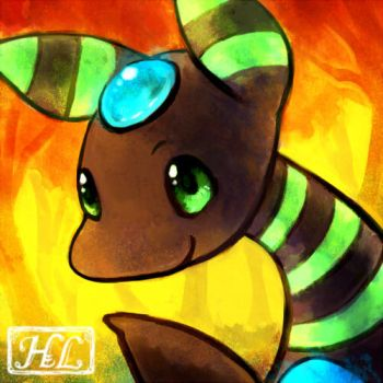 Ampharos icon by Haychel