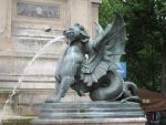 Winged lion by CAStock
