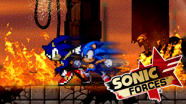 Sonic Forces Fan Art Wallpaper by MattPlaysVG