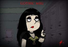 Gothic Meg by Lady-Asmodeus