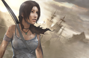 Tomb Raider Lara Croft reborn contest by peto138