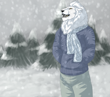 First Snow by sirrowdi